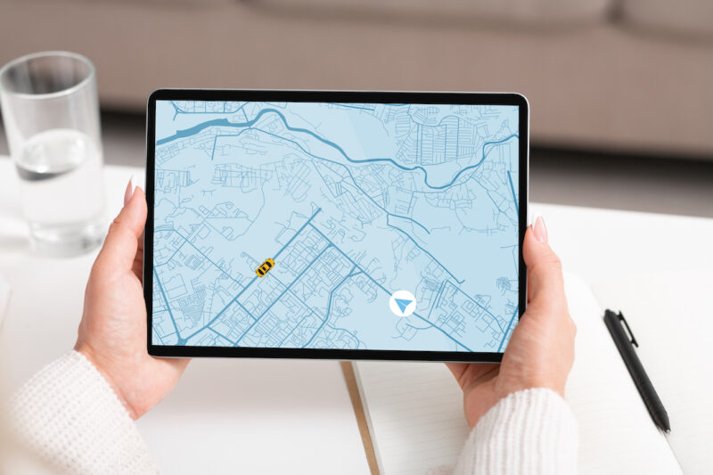real time tracking, gps map, dash camera with gps tracking